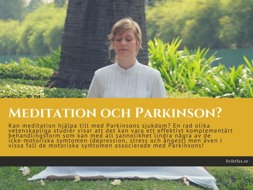 meditation vid parkinsons sjukdom