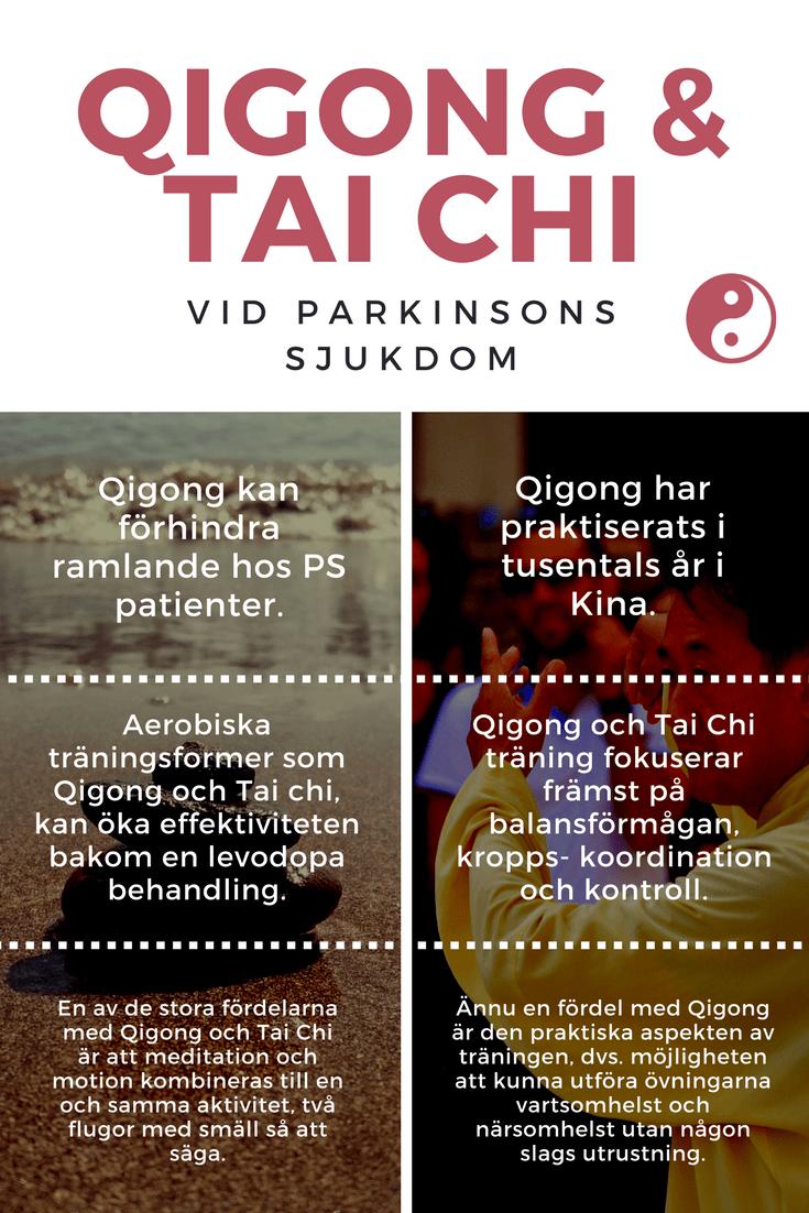 Qigong och Tai Chi vid parkinsons sjukdom
