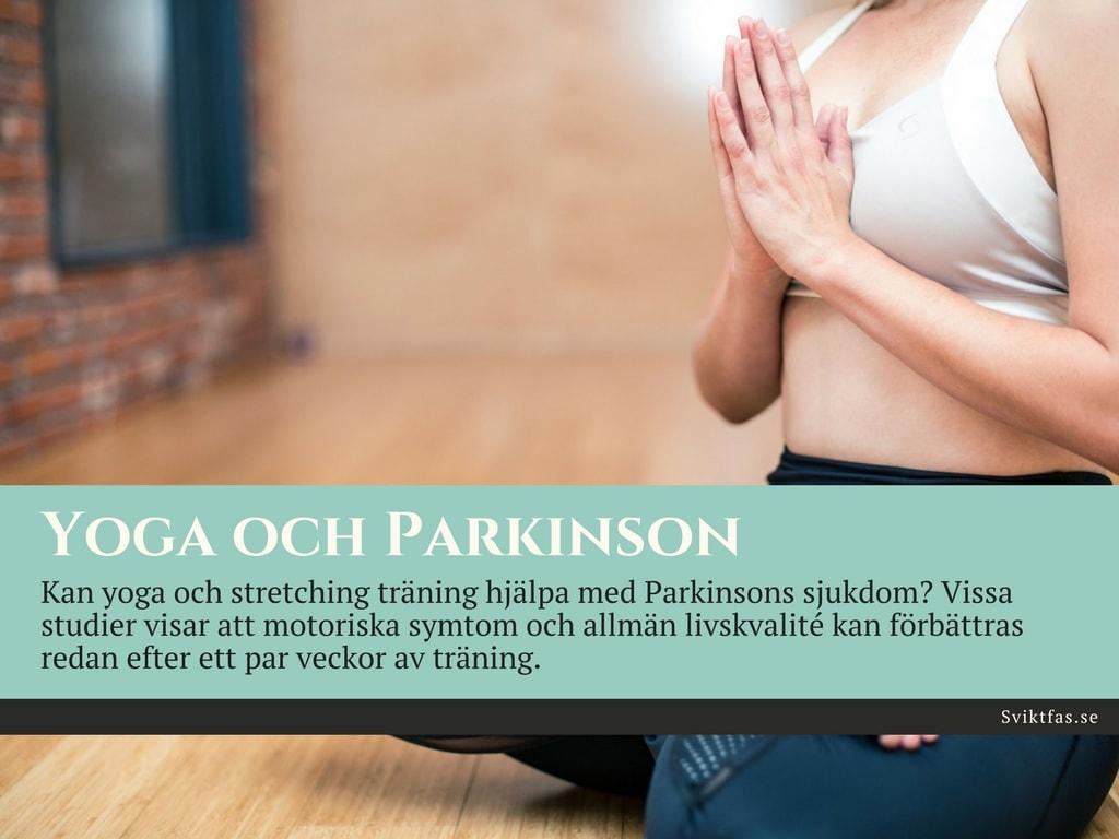 yoga vid parkinsons sjukdom
