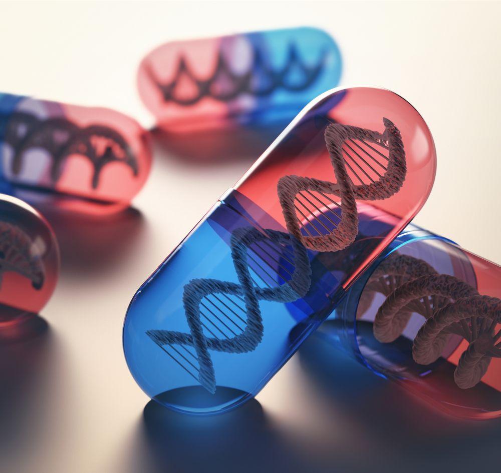 Gener i en tablett